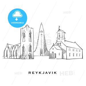 Reykjavik Iceland famous architecture - HEBSTREITS