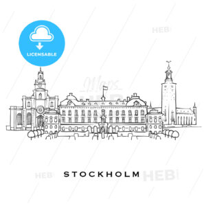 Stockholm Sweden famous architecture - HEBSTREITS