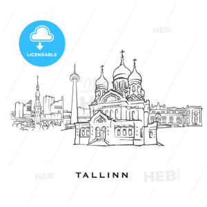 Tallinn Estonia famous architecture - HEBSTREITS