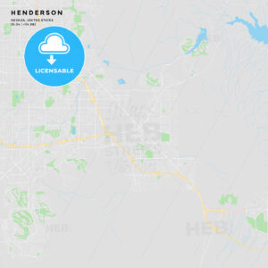 Printable street map of Henderson, Nevada - HEBSTREITS