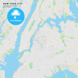 Printable street map of New York City, New York - HEBSTREITS