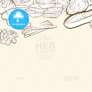 bakery products banner background - HEBSTREITS