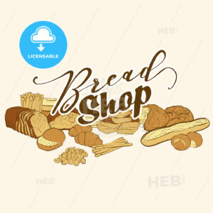 bread shop logo - HEBSTREITS