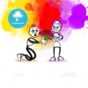 Compliment illustration - HEBSTREITS Sketches