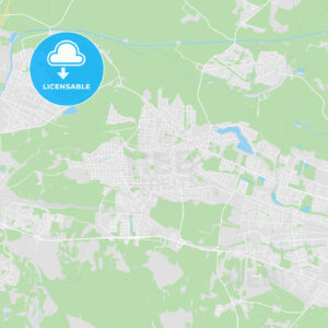 Falkensee, Germany printable street map - HEBSTREITS