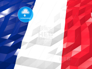 Flag of Martinique 3D Wallpaper Illustration - HEBSTREITS Sketches