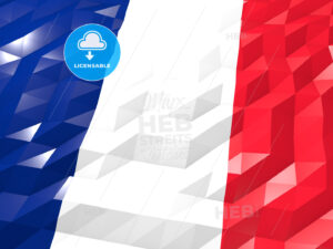 Flag of Mayotte 3D Wallpaper Illustration - HEBSTREITS Sketches
