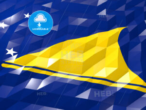 Flag of Tokelau 3D Wallpaper Illustration - HEBSTREITS Sketches