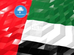 Flag of United Arab Emirates - HEBSTREITS Sketches