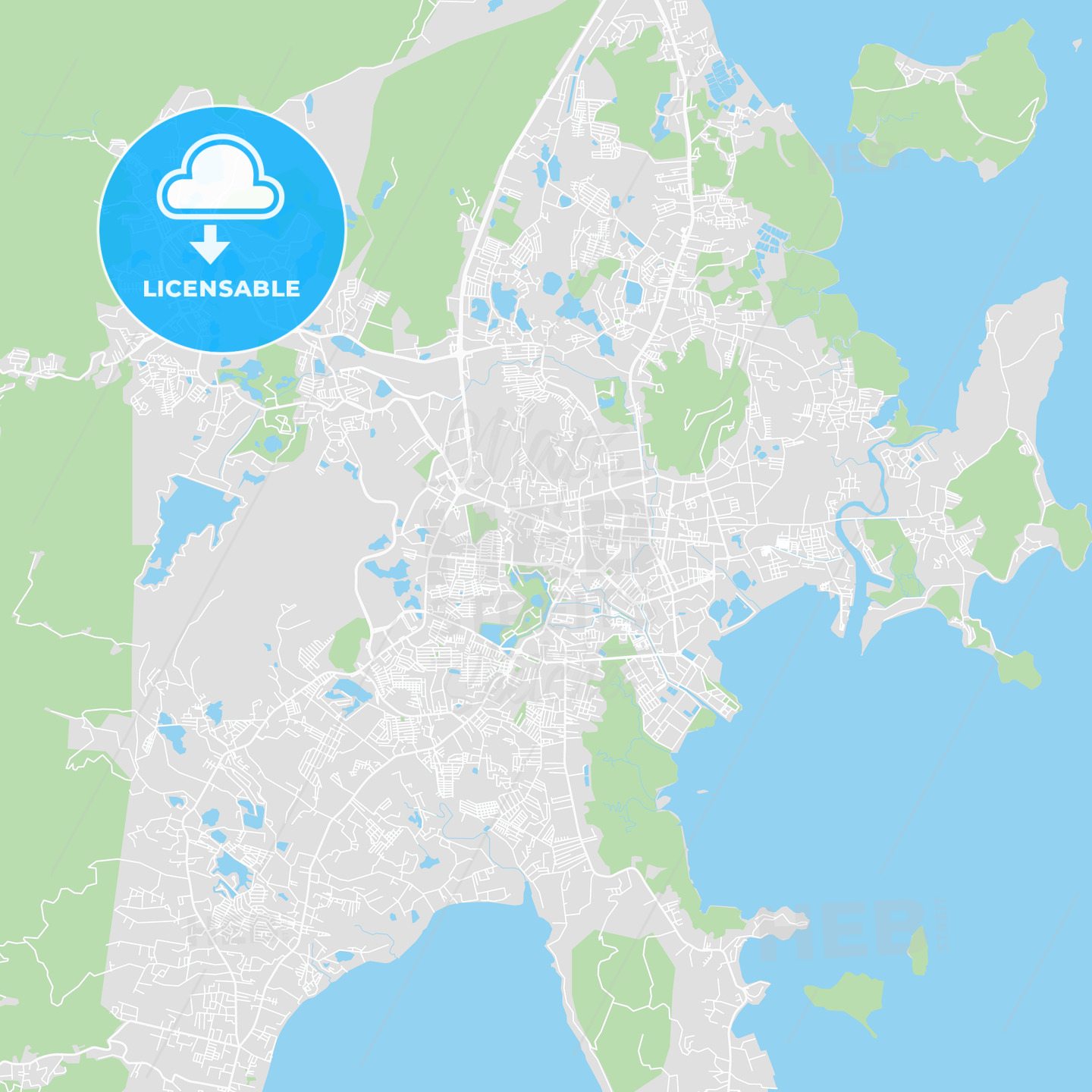 Printable map of et, Thailand | HEBSTREITS Sketches on