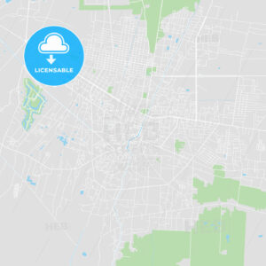 Printable map of Siem Reap, Cambodia - HEBSTREITS