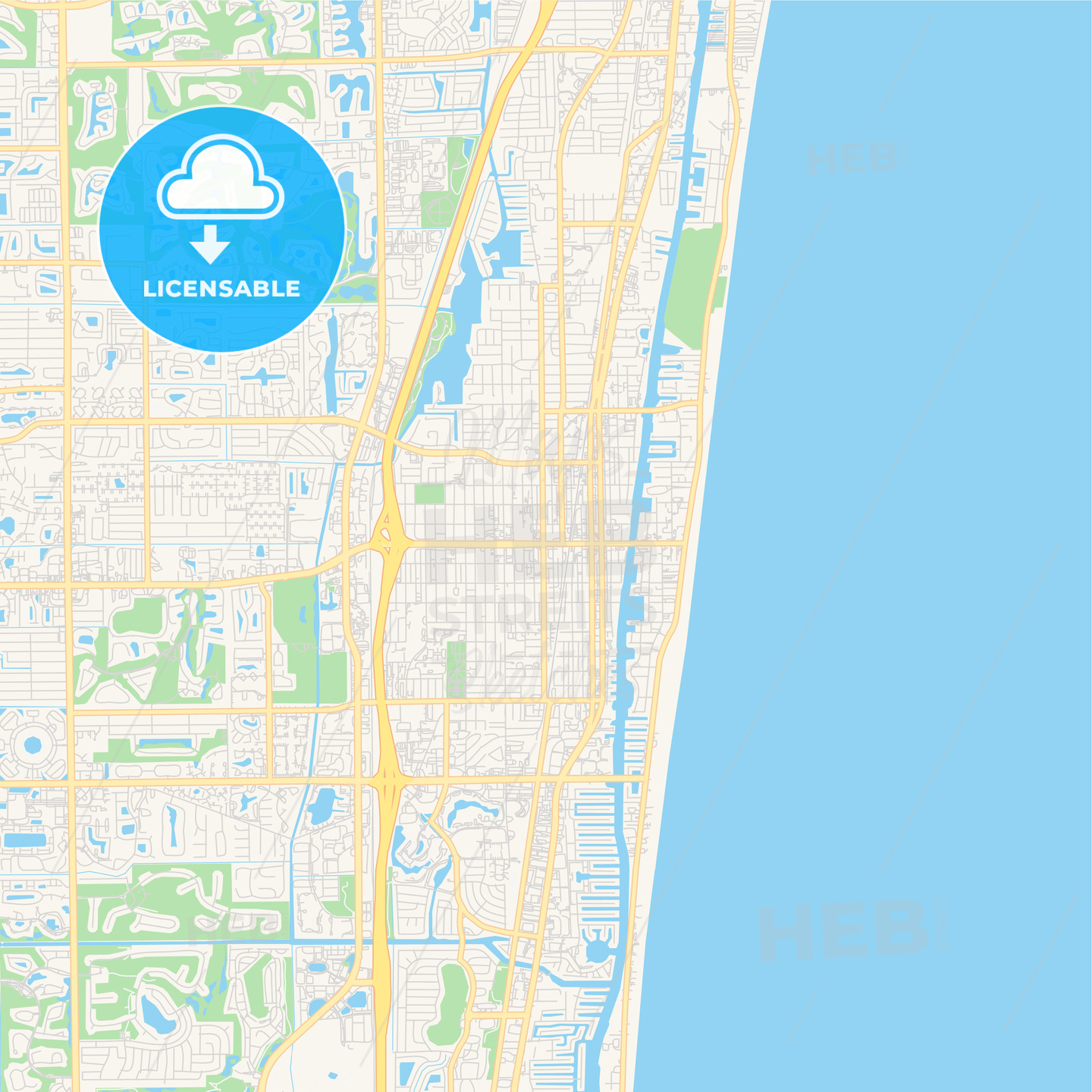 Empty vector map of Delray Beach, Florida, USA on thonotosassa map, lake worth inlet map, north jacksonville map, frostproof map, naples map, palm beach outlets map, florida map, boynton inlet map, miami map, watson island map, marco island map, gladeview map, hollywood map, orlando map, tampa map, hypoluxo island map, palm beach county map, fort lauderdale map, palm beach mall map, bonifay map,