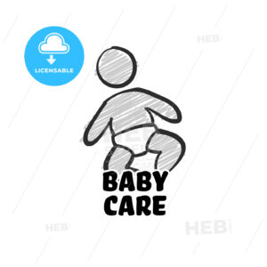 Baby Care Icon - HEBSTREITS Sketches