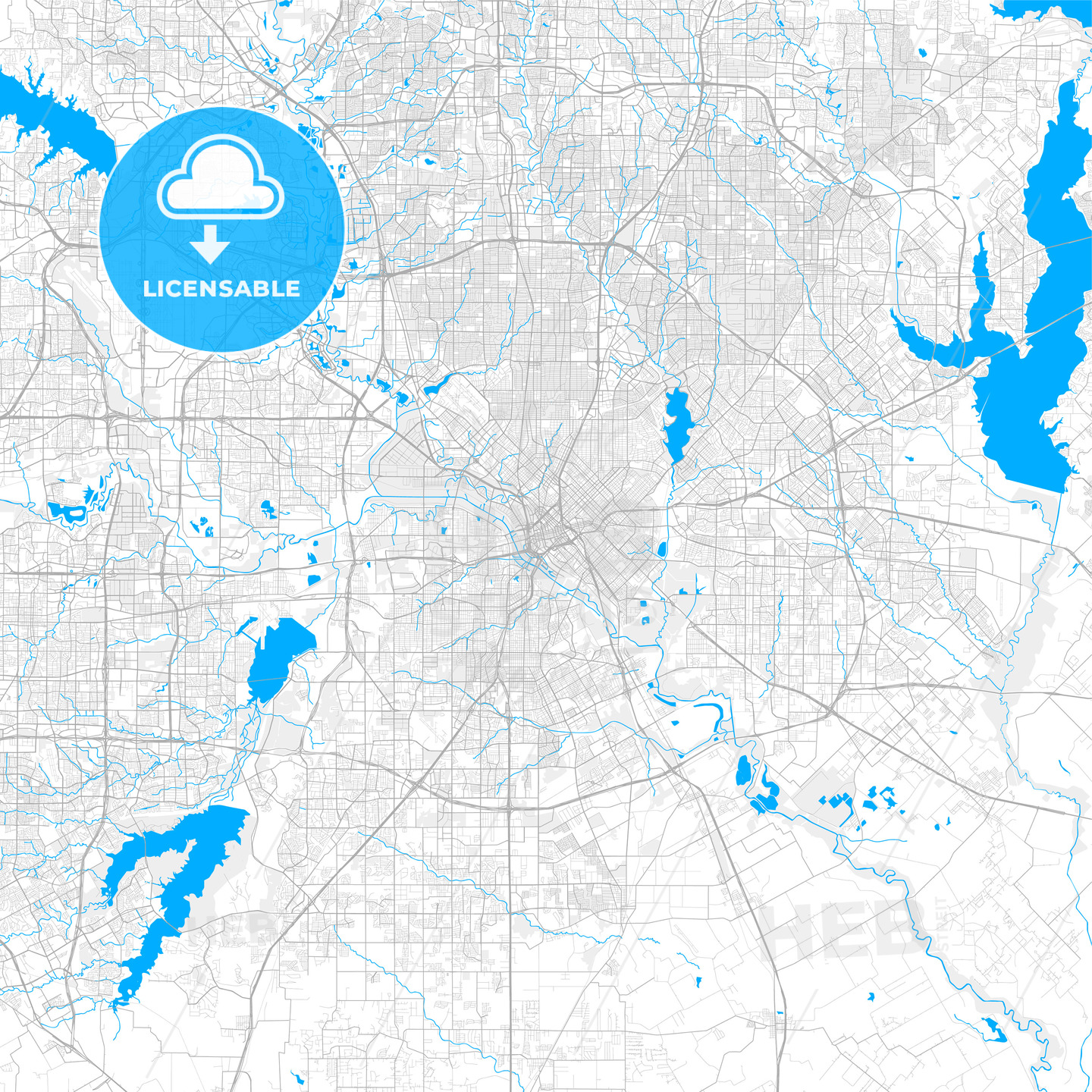 Rich detailed vector map of Dallas, Texas, U.S.A. on lakes of texas, detailed texas map with cities and towns, well known landmarks in texas, the three branch of texas, us map texas, hotels of texas, all cities in texas, mapquest maps south texas, austin texas, sun of texas, google of texas, weather of texas, detailed texas road atlas, winds of texas, project of texas, republic of texas, borger tx map texas, southern coast of texas, flickr texas, business of texas,