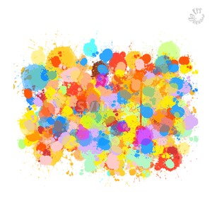 Various light vector drops Stock Vector