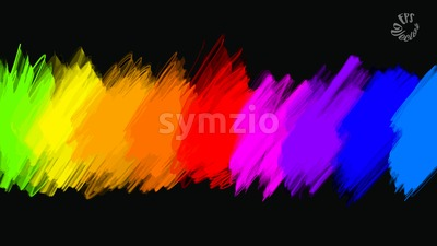 abstract colours full palette banner Stock Vector