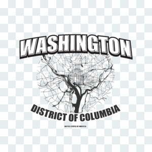 Washington, District of Columbia, logo artwork Stock Photo
