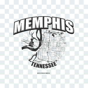 Memphis, Tennessee, logo artwork Stock Photo