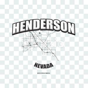 Henderson, Nevada, logo artwork Stock Photo