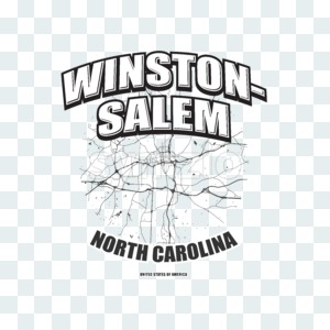 Winston–Salem, North Carolina, logo artwork Stock Photo
