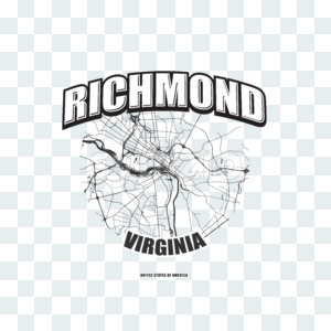 Richmond, Virginia, logo artwork Stock Photo