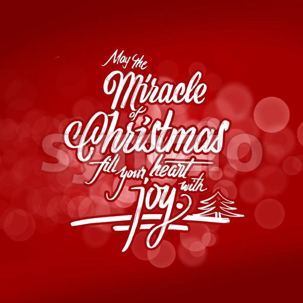 Christmas wishes lettering. Hand drawn calligrphic vector sketch.