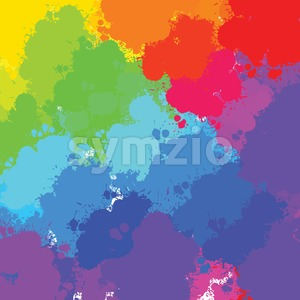 colorful splashes background Stock Vector