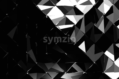 Hard Shaded Explosion Background Pattern Stock Photo