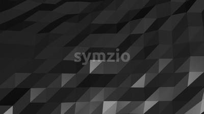 Dark Mesh Abstract Low Poly Background Animation Stock Video