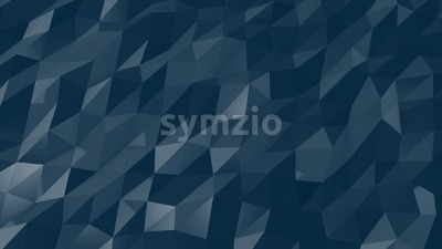 Blue Geometric Shapes Moves slowly together Stock Video