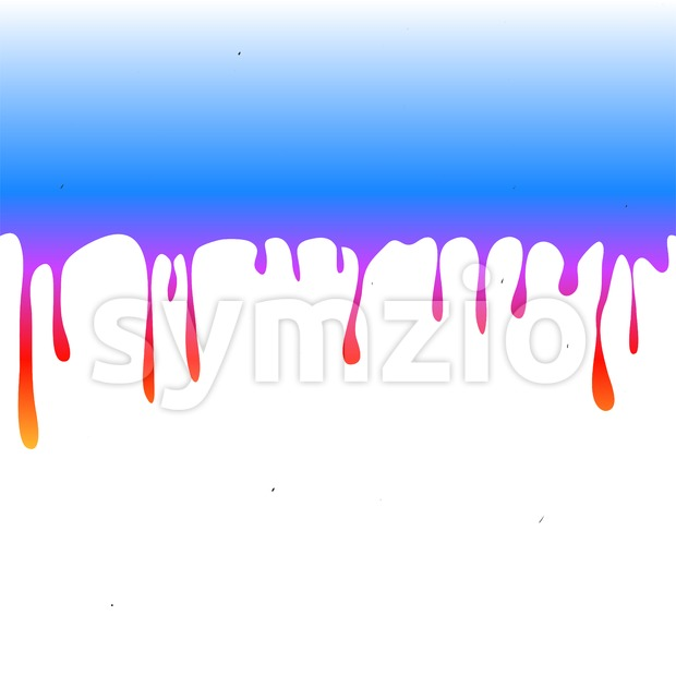 Nice Red Paint Drops Stock Vector